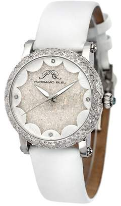 Porsamo Bleu Women's Genevieve Topaz Watch, 38mm