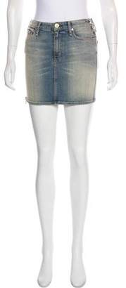 McGuire Denim Pampelonne Denim Mini Skirt w/ Tags