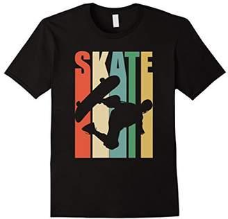Skateboarder Retro Vintage T-Shirt Skateboarding Tee
