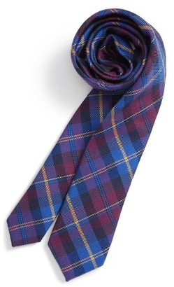 Boy's Nordstrom Plaid Wool & Silk Tie $29.50 thestylecure.com
