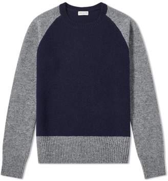 Dries Van Noten Tamel Contrast Shetland Knit