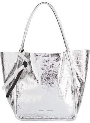 Proenza Schouler Large Metallic Tote Bag