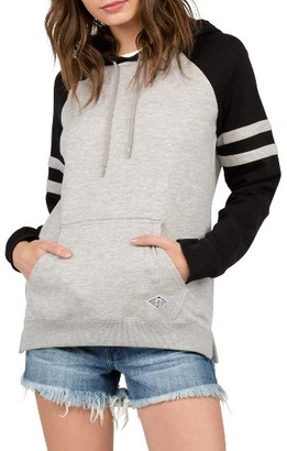 Women's Volcom Lived In Colorblock Pullover Hoodie $49.50 thestylecure.com