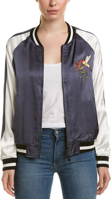 Eight Dreams Ei8ht Dreams Embroidered Bomber Jacket