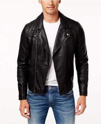 Levi's Men's Faux-Leather Moto Jacket $124.50 thestylecure.com