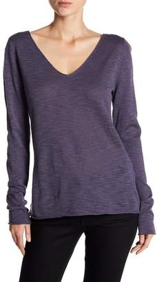 Susina Lightweight V-Neck Sweater (Regular & Petite)