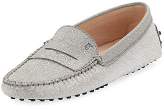 Tod's Glitter Gommini Moccasino Loafer