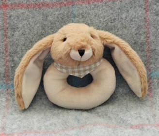 Jomanda #SofterThanASoftThing Brown Bunny Toy Rattle, Gift Boxed