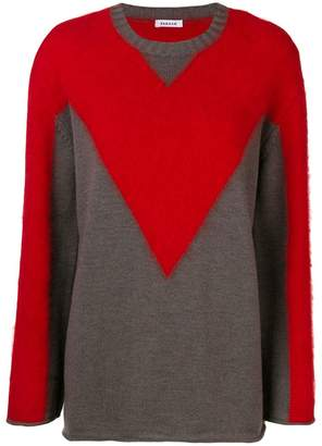P.A.R.O.S.H. bi colour jumper