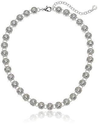 Anne Klein Women's Pave Collar Necklace