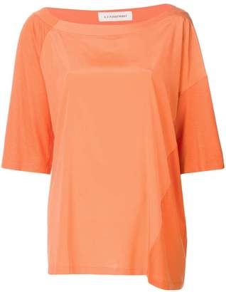 A.F.Vandevorst oversized colour block T-shirt