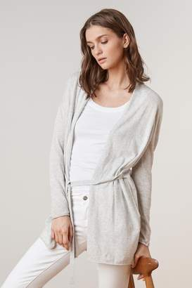Velvet by Graham & Spencer ELZA LUX COTTON WRAP CARDIGAN