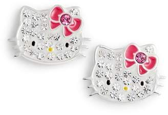Hello Kitty R) Crystal Stud Earrings