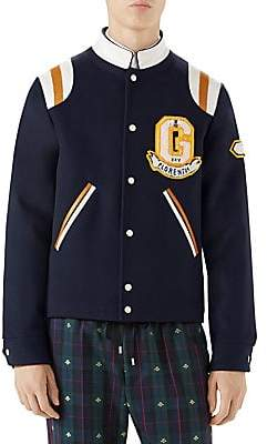 Gucci Men's Varsity Jacket