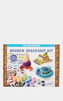 Kid Made Modern Wooden Spaceship Kit