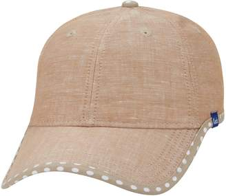 Keds Women's Chambray Dotted Brim Baseball Hat
