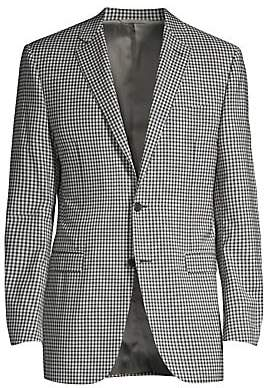 Canali Men's Check Wool Sportcoat
