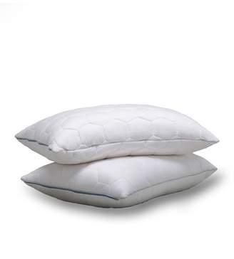 Ecosheex Standard Down Back/Stomach Sleeper Pillow - White