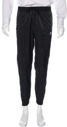 Marcelo Burlon County of Milan Zipper-Accented Joggers w/ Tags