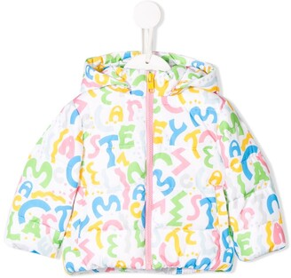 Stella McCartney printed puffer jacket