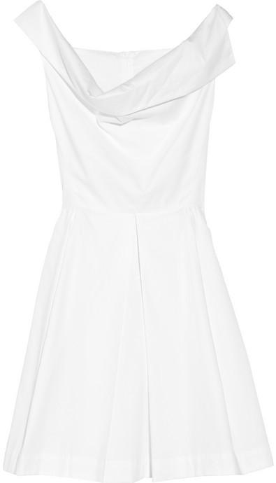 Vivienne Westwood Halton draped cotton dress