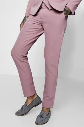 boohoo Skinny Fit Stretch Suit Trousers