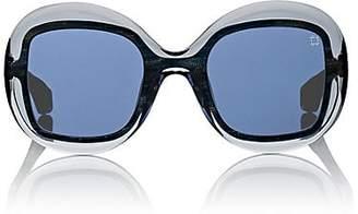 FRAMES FOR A CAUSE Women's CFDA x Blake Kuwahara Mills Sunglasses - Blue