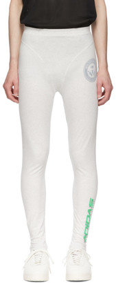 adidas by Alexander Wang Grey Graphic 80s Leggings