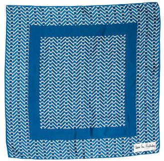 Diane von Furstenberg Geometric Printed Scarf $65 thestylecure.com