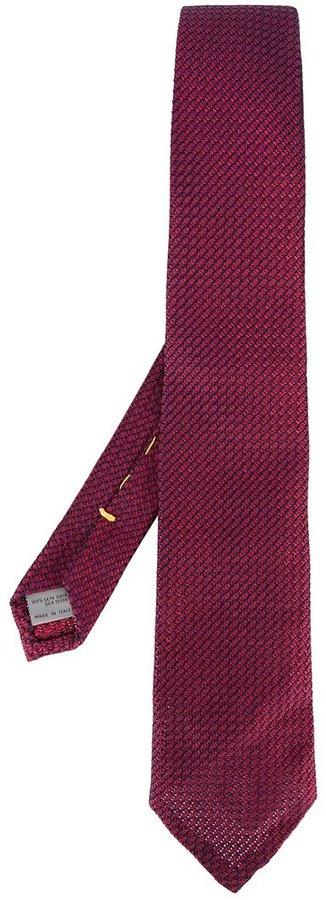 CanaliCanali geometric pattern tie