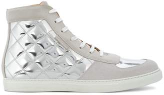 Marc Jacobs quilted high-top sneakers