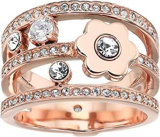 Michael Kors Womens -Tone Flower Ring