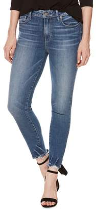 Paige Hoxton High Waist Crop Skinny Jeans