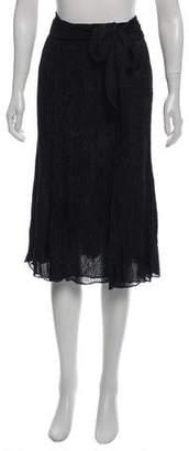Maiyet Textured Knee-Length Skirt