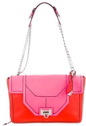 Rebecca Minkoff Neon Leather Shoulder Bag