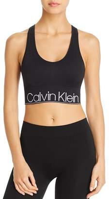 Calvin Klein Seamless Racerback Sports Bra