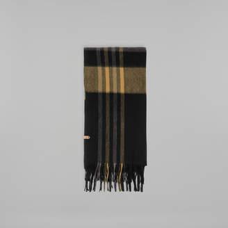 Mackage RANGER-N plaid classic cozy wool scarf
