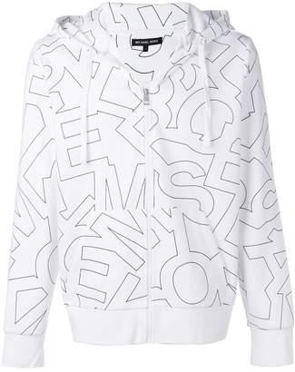 MICHAEL Michael Kors logo print jacket