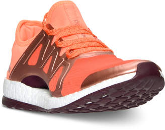 adidas Women's Pure Boost Expose Running Sneakers from Finish Line