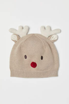 H&M Hat with Ears - Brown