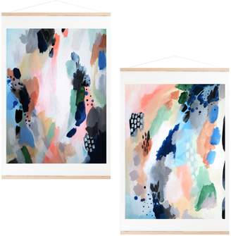 Deny Designs Impulse Set of 2 Art Prints