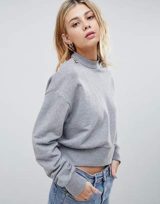 Cheap Monday Feel Neck Strap Sweatshirt