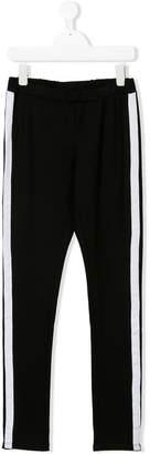 Karl Lagerfeld TEEN side stripe leggings
