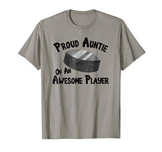 Hockey T-Shirt Proud Auntie of an Awesome Player Tee TShirt