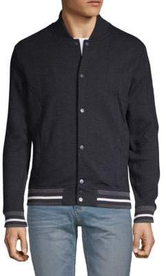 Antony Morato Chevron Fleece Bomber Jacket