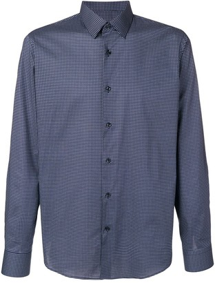 HUGO BOSS micro-check shirt