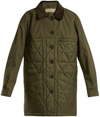 Burberry Shell quilted jacket