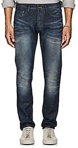 Denham Jeans the Jeanmaker THE JEANMAKER MEN'S RAZOR SLIM JEANS-MD. BLUE SIZE 34W 34L