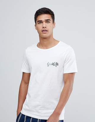 Jack and Jones T-Shirt With Good Life Logo