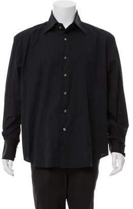 Couture Billionaire Italian Paisley Button-Up Shirt